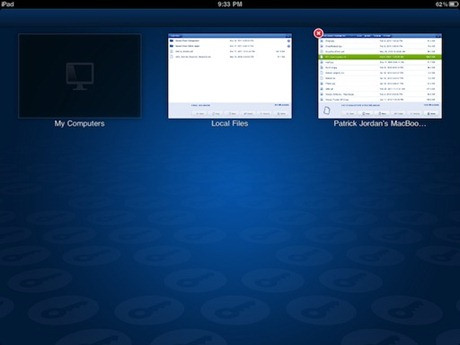 LogMeIn Ignition file manager