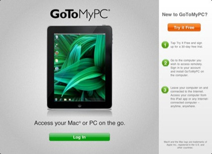 GoToMyPC for iPad