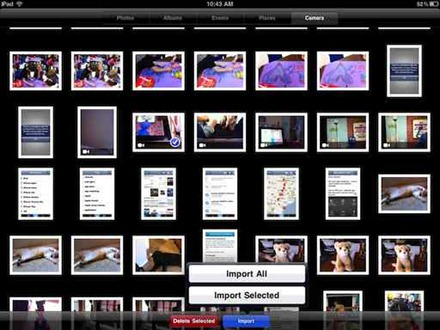 Using Camera Connction Kit to transfer iPhone videos to iPad