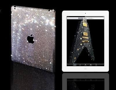 Ipad2withSwarovskicrystal