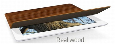 Miniot wooden iPad 2 smart cover