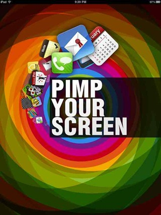 Pimp Your Screen iPad wallpapers app