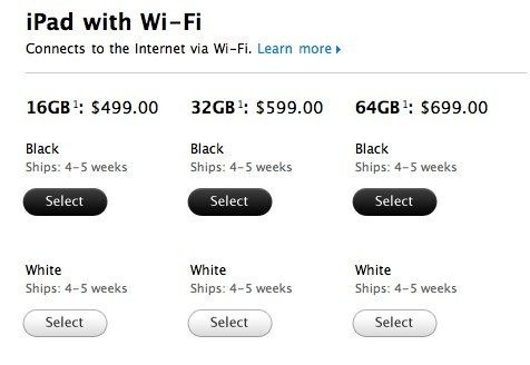 iPad - iPad WiFi - iPad WiFi   3G - Apple Store (U.S.)-3