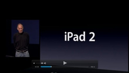 iPad 2 unveiling event