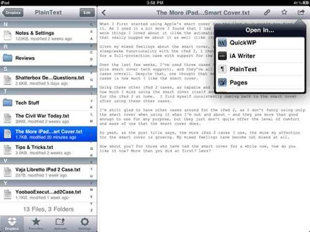 QuickWordPress for iPad