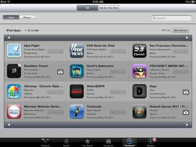New iCloud Features Available Now on iPad and iOS 4 3: Purchase
