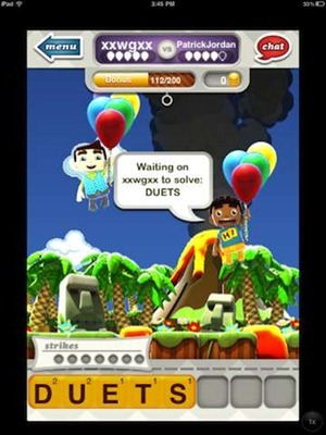 Hanging with Friends iOS Game