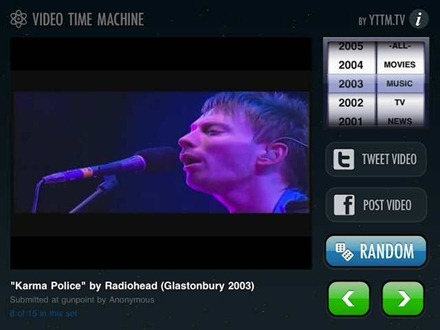 Video Time Machine for iPad
