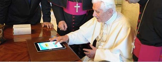 ThePopewithiPad