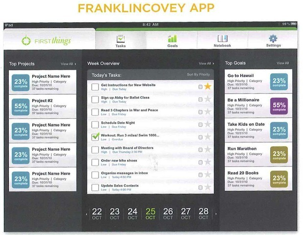 Franklin Covey App For Iphone