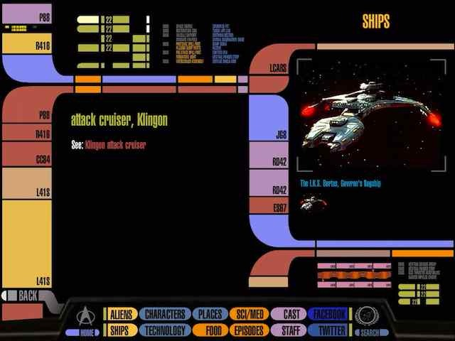 Star Trek Padd For Ipad Fun New App Turns Your Ipad Into A