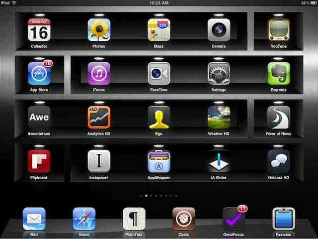 SpotlightHomeScreen Im Big On Changing Up My IPad Home Screen Wallpaper