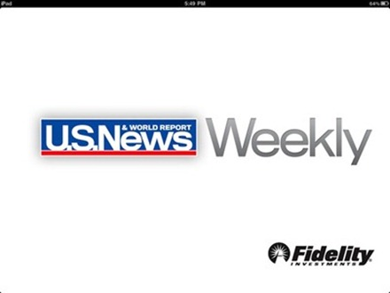 US News Weekly for the iPad