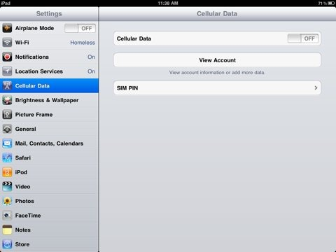 how to connect ipad to data collector