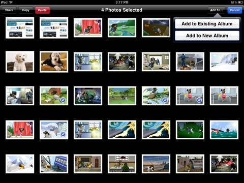 Nice New iOS 5 Features: Create New Photo Albums and Copy Photos Between Albums on iPad iPad Insight