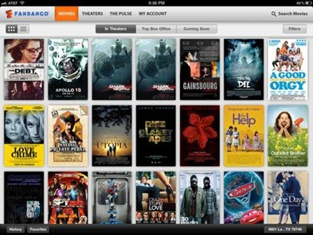 Fandango Movies for iPad