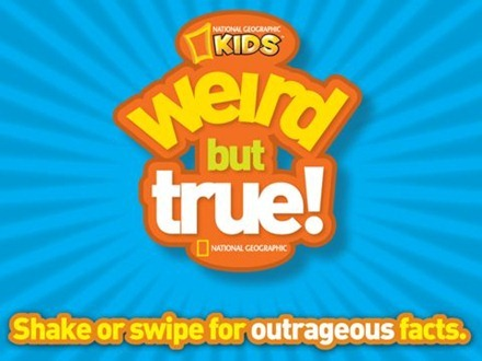 National Geographic Kids WeirdButTrue for iPad