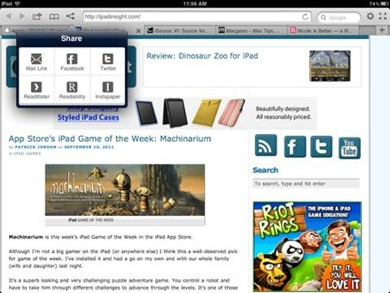 Terra Web Browser for iPad