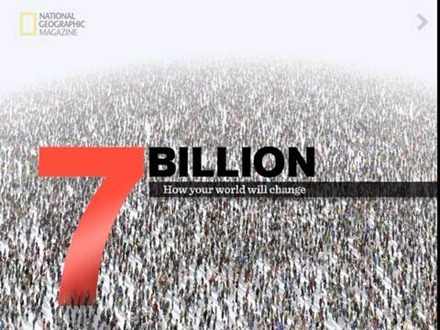 7 Billion by National Geogrpahic iPad app