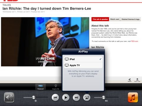 iPad and iOS 5 Tips: How To Turn on AirPlay Mirroring on the