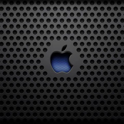 BlackandBlueAppleLogo