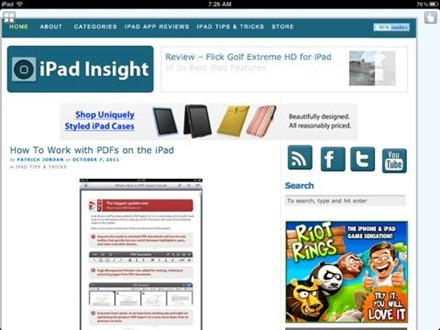 Dolphin Browser HD for iPad