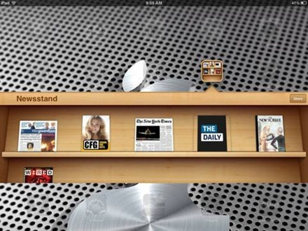 Newsstand for iPad