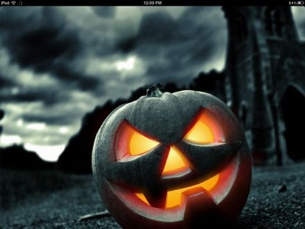 Halloween iPad wallpapers