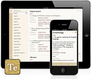 Sponsor) Terminology – Dictionary + Thesaurus App for iPad