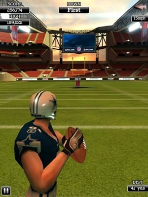 NFL Flick Quarterback HD for iPad