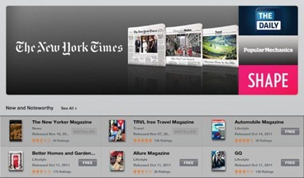 NewsstandAppStoreSection