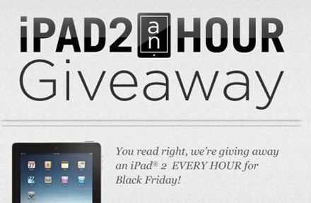 zagg free ipad2 thanksgiving giveaway link sweepstakes black friday 2011