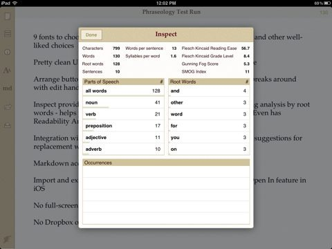 ipad apps for writers