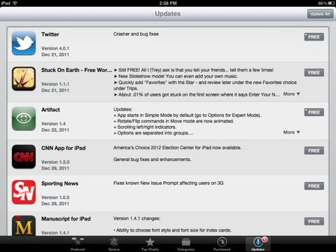 apps store  for ipad