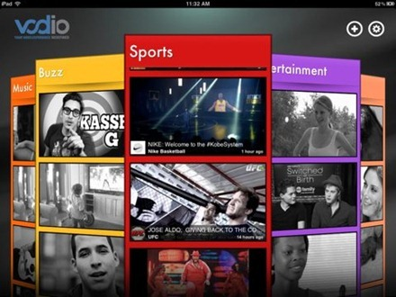 Vodio for iPad