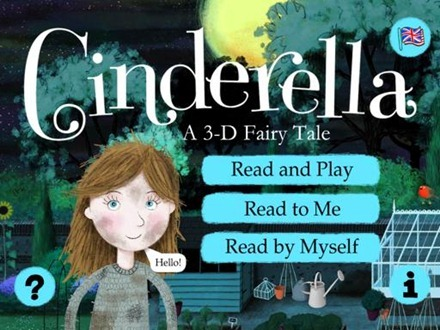Nosy Crow Cinderella for iPad