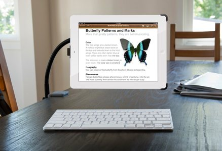 HoverBar iPad workstation