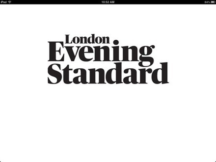 London Evening Standard iPad Edition