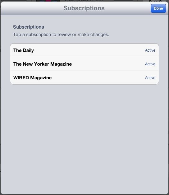 The Daily: Forgetting I\'m a Subscriber on a Daily Basis | iPad Insight