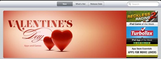 Valentines Day Featured Section
