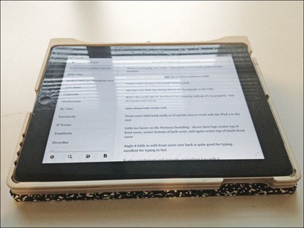 iPad Typing in Composition Case