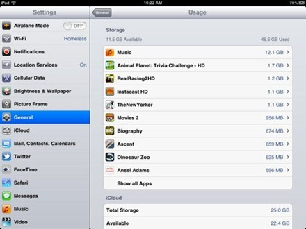 iPad Usage Before
