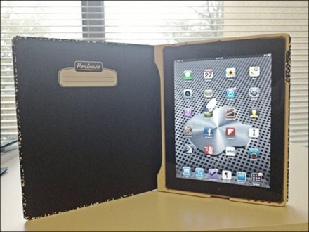 iPad in Compostion Case