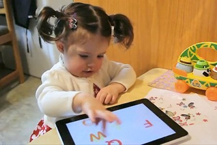 iPad in Kindergarten