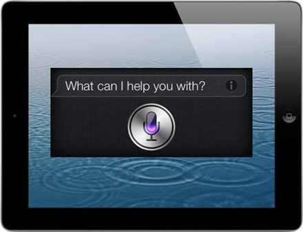 iPad3 with Siri