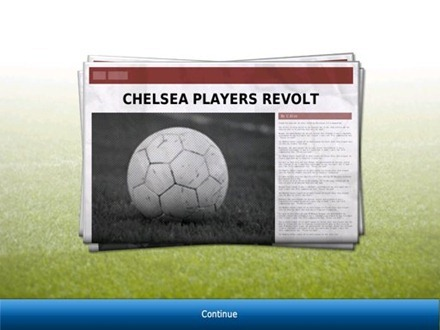 Football Manager Handheld 2012 for iPad