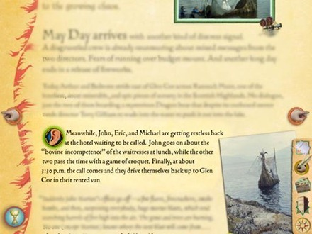 Monty Python: The Holy Book of Days for iPad