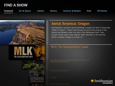 Smithsonian Channel for iPad