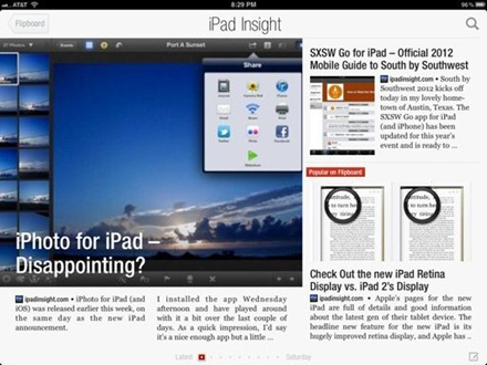 Flipboard iPad Insight