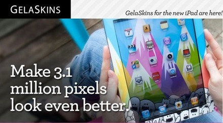 Gelaskins for New iPad